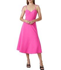 women's bardot lucielle a-line dress, size large - pink