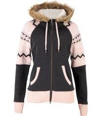 giacca in felpa (grigio) - bpc bonprix collection