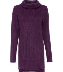 maglione lungo (viola) - bodyflirt