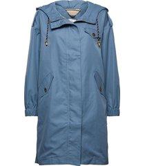 light outerwear zomerjas dunne jas blauw noa noa