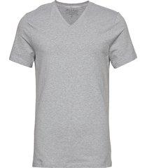 v-neck t-shirt t-shirts short-sleeved grå bread & boxers