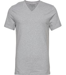 v-neck t-shirt t-shirts short-sleeved grå bread & boxers