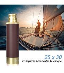 telescopio plegable de 25x30 monocular ajustable