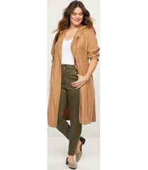 lane bryant women's high-rise 3-button jegging - olive green 16 olive green