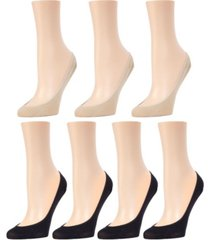 micro women's liner socks, pack of 7