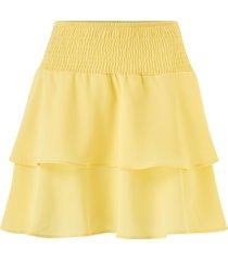 volangkjol onlmariana myrina layered skirt
