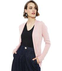 cardigan ash rosa - calce regular
