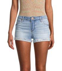 sts blue women's mid-rise boyfriend denim shorts - south - size 26 (2-4)