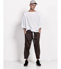 spodnie tenisowe proste