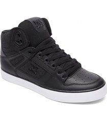 zapatilla pure wc tx se high-top negro dc