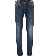 diesel jeans thommer 5-pocket blauw stretch