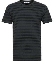 carpo t-shirt st 7888 t-shirts short-sleeved svart samsøe samsøe