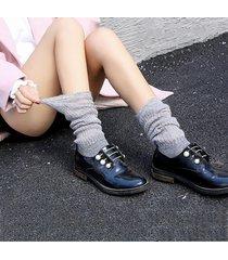 5 colori calze da donna calze a rete a righe calze a calzini lunghi calzini da lavoro a maglia