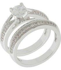 anel dona diva semi joias duplo feminino