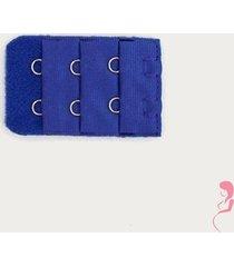 op en top zwanger beha verlenger 2 haaks donker blauw stuk