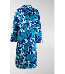 richard quinn floral belted coat