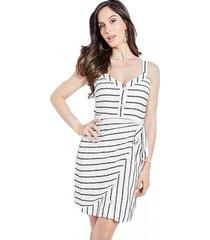 vestido sl emilea dress blanco guess