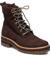 courmayeur valley yboot shoes boots ankle boots ankle boot - flat brun timberland