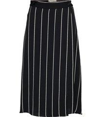 my skirt knälång kjol svart twist & tango