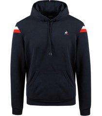sweater le coq sportif tricolore hoodie