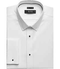 black by vera wang slim fit formal shirt white