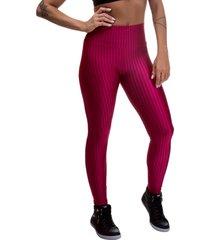 legging miss blessed 3d poliamida vermelho