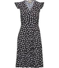 dani knälång klänning svart jumperfabriken