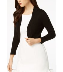 jessica howard open-front cropped cardigan