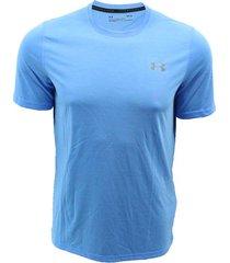 camiseta para hombre manga corta under armour 1289583-983 - azul
