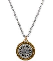 "patricia nash women's compass necklace, 30"""