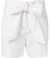 ermanno scervino bow shorts - white