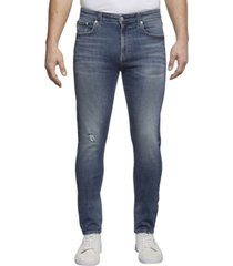 ckj 016 skinny jean azul calvin klein