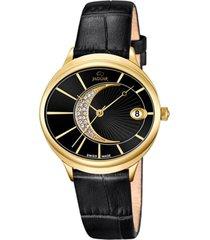 reloj clair de lune negro jaguar