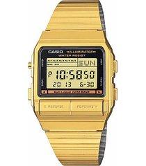 reloj casio db-380g-1d -dorado
