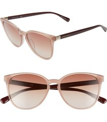 women's le pliage 53mm gradient cat eye sunglasses -