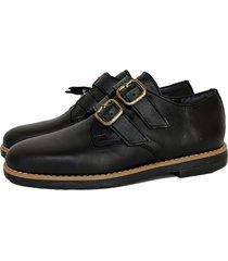 zapato negro miye collazo cariñoso