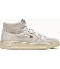 sneakers autry 01 mid colore bianco