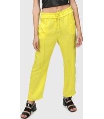 pantalón amarillo la cofradía fiona