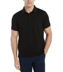 men's hidden zip polo shirt