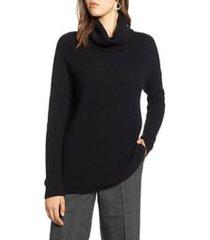 plus size women's halogen oversized turtleneck tunic sweater, size 2x