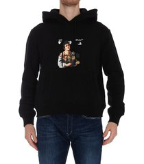 off-white caravaggio print hoodie