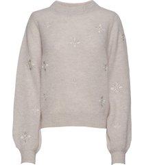 adelia sweater gebreide trui crème lexington clothing