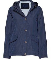 d1. short memory jacket zomerjas dunne jas blauw gant