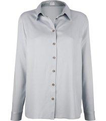 blouse mona zilvergrijs