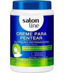 creme para pentear salon line - nutrição reparadora - 1kg