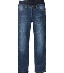 jeans elasticizzato senza chiusura con fascia in jersey (nero) - bpc bonprix collection