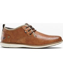 scarpe stringate mustang (marrone) - mustang