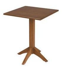 mesa quadrada tramontina 14068/160 london madeira amêndoa