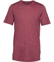 mens sphere ss crewe t-shirts short-sleeved rood icebreaker