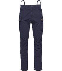 core cargo pant trousers cargo pants blå superdry